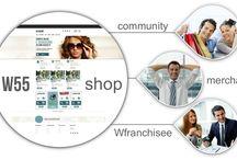 Core business / W55shop é il core business del progetto Wision55, un portale con centinaia di Merchant di tutti i settori merceologici che offrono i loro servizi/prodotti a condizioni particolarmente vantaggiose o addirittura in esclusiva alla Community W55. Chiunque può iscriversi gratuitamente a W55shop diventando Fan ed entrando a far parte della nostra Community W55. Il sistema perfetto per aumentare il proprio potere d'acquisto!