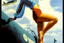 Vintage Pin-Up Art / by Willy Osteen