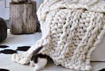 tricot plaide