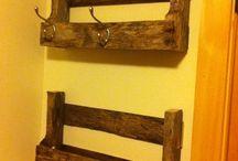 criatividade com madeira