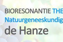 Natuurgeneeskunde Zwolle en Almelo / Impressie van de therapieën in Natuurgeneeskundige praktijk de Hanze met vestigingen in Zwolle en Almelo