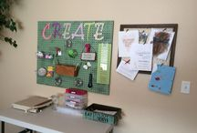 CRAFT OR SEWING ROOM / by Billie Busby