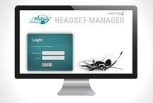 Headset Manager - online Verwaltung