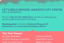 Jakarta Walking Tour / Walking around Jakarta's City Centre