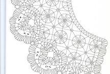 сколки воротников / модели и образцы