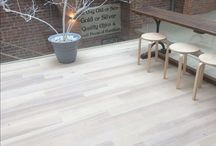 Engineered White Oiled Ash Flooring