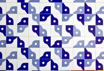 Tiles. Azulejo. Ladrilho hidráulico
