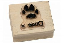 Personalised Paw Print Stamps