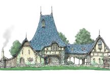 Concept Art | Houses / Great concept art houses and illustrations