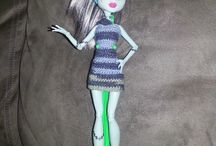 crochet - doll clothes