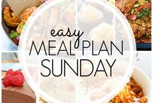 Easy meals plan