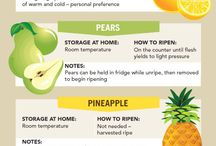 Awesome Rawsome Food Storage / Tips and tricks to ripening produce, cleaning and storing fruits and vegetables for maximum freshness.