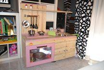 Cucina home made per bambini
