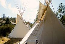Tipis / glamping, glamping ideas, glamping resorts, luxury, tipis, teepees, camping