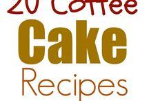 Coffee Cakes / Yummy Coffee Cakes