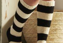 Crafts/Knitting/Woolen stockings