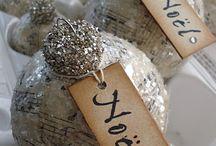 DIY Christmas Ornaments - Shabby Chic... / by Julie Sturtevant