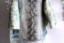 платье из войлока