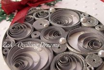 Quilling Inspiration / Quilling is an amazing art form.  These are projects that I have found inspiring.  Carol Lovenstein  www.pinkstampagne.com