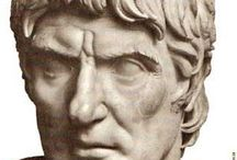 Notable Romans and Greeks / Emperors, politicians, philosophers and the famous ftom ancient times and antiquity.