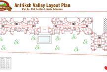 antriksh gold ghaziabad layout plan