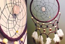 Becara dreamcatchers / - Official Becara dreamcatchers -  Beautiful handmade and unique dreamcatchers from Sweden with gemstones such as rose quartz and turquoise.   Follow for my etsy.com updates and sales!