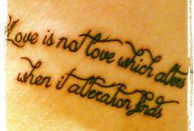 Tattoos / Shakespeare love sonnet 116 tattoo