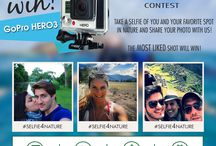 #Selfie4Nature Contest / Enter your Selfie in Nature to win a Go Pro Hero3 http://www.ecoventura.com/selfie4nature-contest/