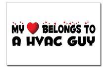 HVAC Guy postcard / HVAC