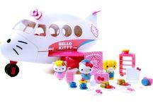 Hello Kitty / Mini Hello Kitty toys I like.