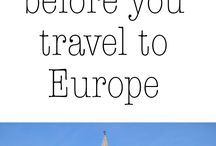 Fashion Week: Europe Traveling