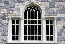Cast Stone Window and Door Surrounds / Cast Stone Window and Door Surrounds, Keystones, and Jack Arches