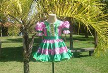 VESTIDOS DA LILUART ROUPAS INFANTIS / Vestidos Juninos feitos sob medida para crianças, jovens e mamães.