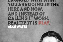 The Wisdom Of Alan Watts / The wisdom and quotes from the philosopher who brought Eastern philosophy to the West; Alan Watts.