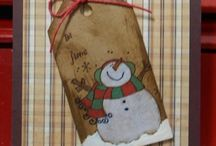 Cards Snowmen, Santa, Christmas / Cards / by Nancy Johnson