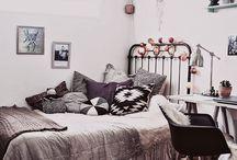 domki, pokoje, wnętrza