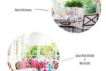 Backyard deck/garden