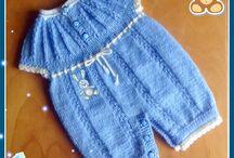 Вязание для детей / Здесь собраны модели вязаной одежды для детей. От новорожденных и старше. #baby #шапка #плед #платье #одежда #длядетей #пинетки