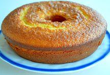 bolo de iogurte grego e laranja