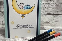 Stampin Up Baby Moon