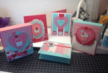 MY STAMPIN UP THANK YOU CARDS / by Barbara Charles