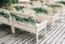 Stunning marsala wedding