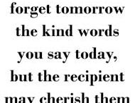 A Kind Word Makes Someone's Day