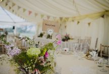 Country Marquee Weddings / Create your wedding venue in the heart of the countryside with a marquee!  It is the best way to take in the views and you have a blank canvas to choose any style you like!