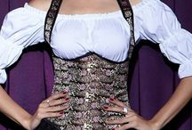 Corsets with Straps