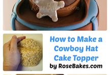 Cake/cake pops- decorating tips / by Courtney Muirhead