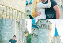 Magic Kingdom Engagement Sessions at Walt Disney World by Sugar Peach Productions
