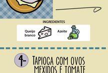 tapioca omelete panqueca
