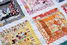 Quilts-Strips, Strings & Jelly Rolls / Inspiration for quilts that use up strips and strings.