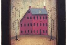 Saltbox houses / by Sharon Cutbirth Hollenbeck Malenke